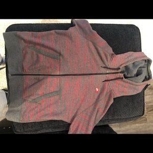 Nike zip-up sweater